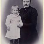 Alva och dotter